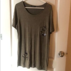 Boutique style tunic